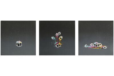 Pahnl, 'CMYK Triptych', 2011