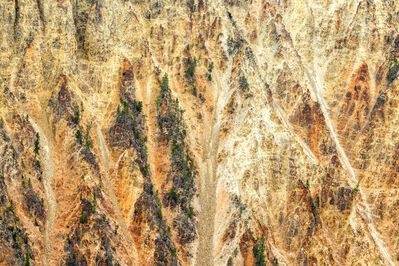 """Zoe Wetherall, '""""Yellowstone"""" Contemporary Abstract Aerial Landscape (Color Photograph)', 2019"""