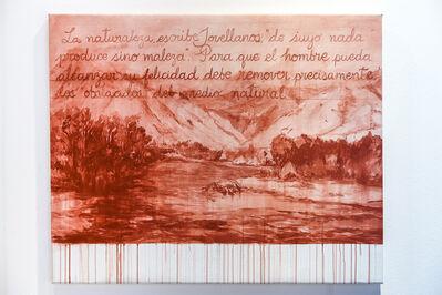 Sandra Gamarra, 'Recurso IV (De la serie Rojo Indio)', 2018