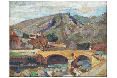 JOHN ANTHONY PARK, 'Sketch for Roman Bridge in Mallorca'