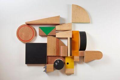 Ohad Meromi, 'Decorative Wall #1', 2017