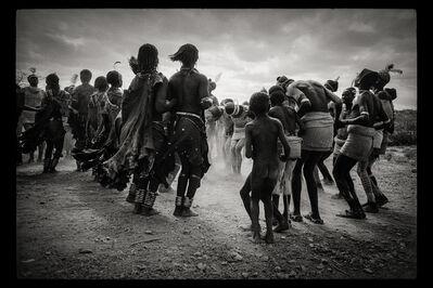 Clark and Joan Worswick, 'Dance Hamar, Southern Ethiopia', 1968