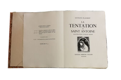 Odilon Redon, 'La Tentation de Saint Antoine, by Gustave Flaubert illustrated by Odilon Redon', 1933