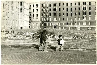 Perla de Leon, 'No Sidewalks Here', 1979
