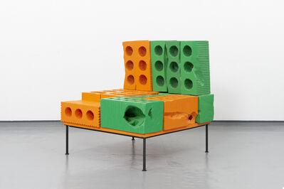 Cameron Platter, 'Solid waste khaos (orange)', 2020