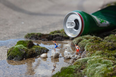 Slinkachu, 'The Stream', 2014