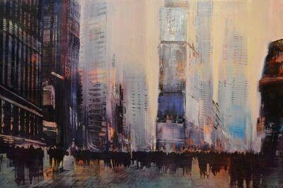 David Allen Dunlop, 'Times Square Luminous Atmosphere', 2017