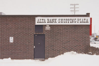 Mike Bayne, 'Alta Bank', 2019