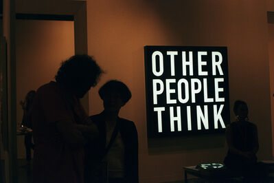 Lucía Mara, 'Other People Think, Arco, Madrid', 2012