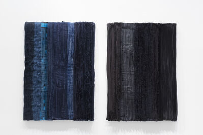 Joël Andrianomearisoa, 'Blue take me to the end of all loves (5,8)', 2019