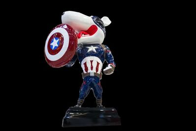 SeungKoo Lee, 'Hero (Captain America)', 2015