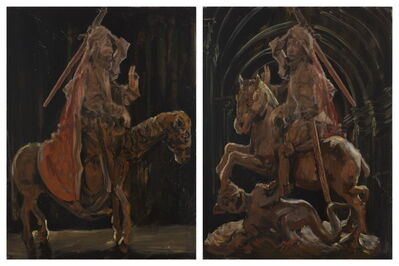 Li Qing 李青, 'Images of Partial Mutual Undoing·Christ and St. George', 2015