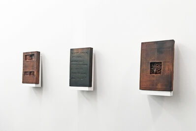 Óscar Santillán, 'Burned Encyclopedia', 2017-2019