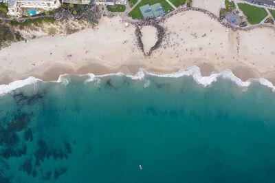 Elizabeth Turk, 'Shoreline Project Laguna Beach CA Night'
