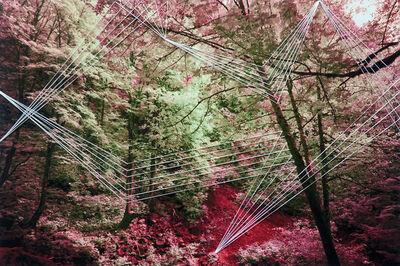 Adriene hughes, 'Threaded Wildfire No. 3', 2019