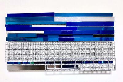 Katsumi Hayakawa, 'Grid and Blue', 2018