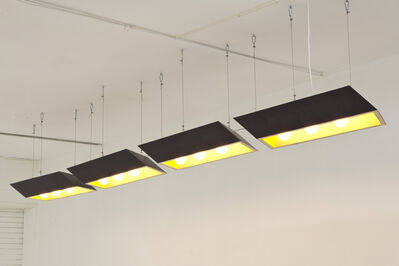 Emmett Moore, 'Sliced Parallelepiped Lights', 2012