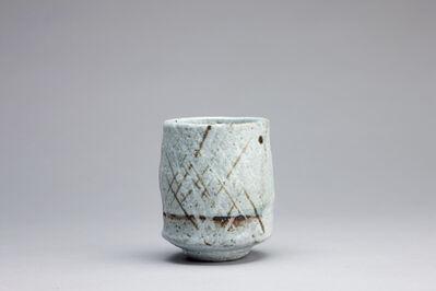 Randy Johnston, 'Yunomi, nuka glaze with iron brushwork', 208