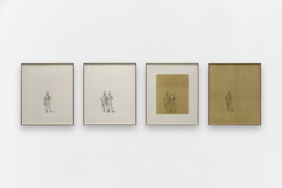 Ana Jotta, 'From left to right: And / Then 1 / He said / Then', 2017
