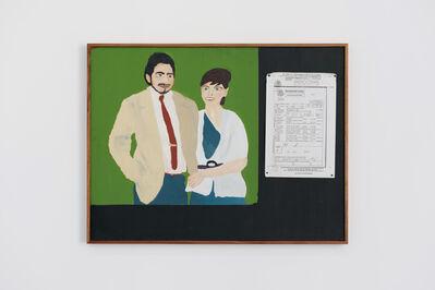 Diego Salvador Ríos, 'Retrato de mis padres (parasiempre) de la serie Retratos Familiares', 2011