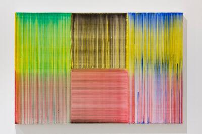 Bernard Frize, 'Feux et Lacs n°3', 2016
