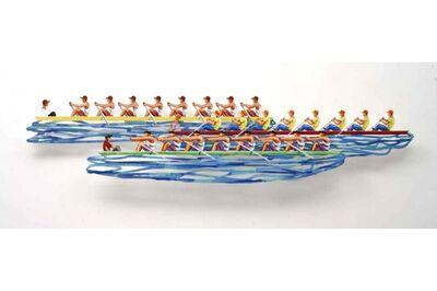 David Gerstein, 'Row Boats', 2008