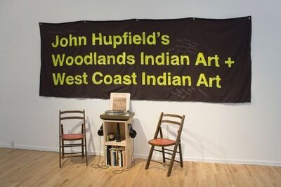 Maria Hupfield, 'John Hupfield's Woodlands Indian Art + West Coast Indian Art', 2017