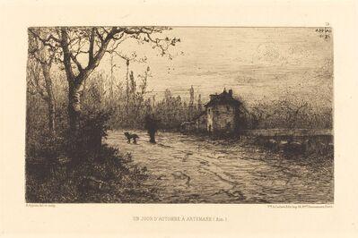 Adolphe Appian, 'Un Jour d'automne a Artemare'
