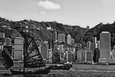 Robin Moyer, 'Some of the Last Working Junks Pass Through, Victoria Harbour, Hong Kong', 1978