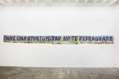 José Carlos Martinat, 'Sin titulo ', 2010
