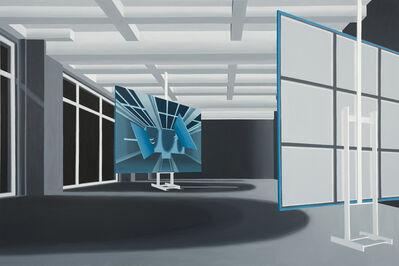 Thomas Huber (b.1955), 'Atelier Negativ', 2015