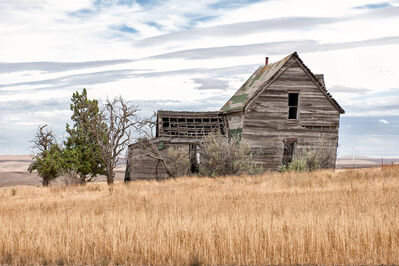 Andrew Prokos, 'Abandoned Farmhouse, Biglow Canyon #2', 2020