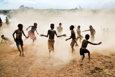 Steve McCurry, 'Omo children playing, Ethiopia'