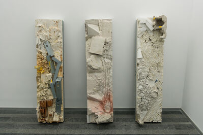 Allyson Vieira, 'Clad (Multi Story) I,VII,IX', 2014