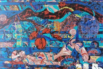 "Sanatan Saha, 'Dream of Love, Acrylic on Canvas, by Contemporary Indian Artist ""In Stock""', 2010-2020"