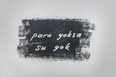Elmas Deniz, 'No Money No Water', 2014