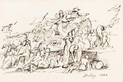 Sir David Wilkie, 'Battle Scene', 1840
