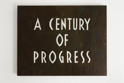 Tobias Bernstrup, 'A Century of Progress', 2020