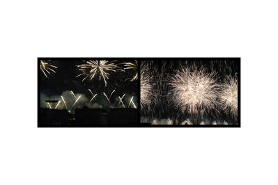 Eve Sonneman, 'Fireworks, July 4, New York', 2018