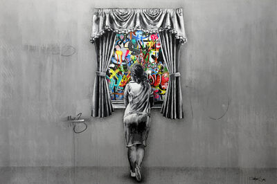 Martin Whatson, 'Figure Girl At The Window (Reverse)', 2018