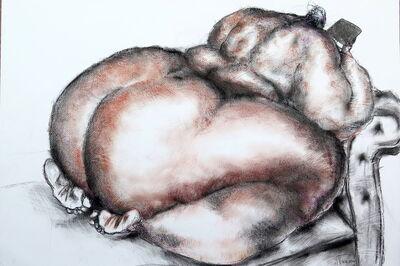 Uthman Wahaab, 'Nude (Ipad)', 2017