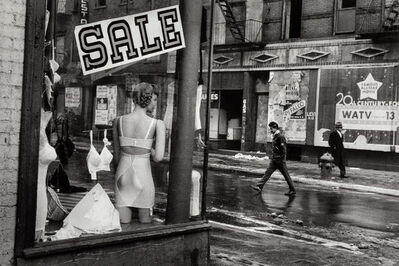 Inge Morath, 'Lingerie shop window on Lower East Side', 1957