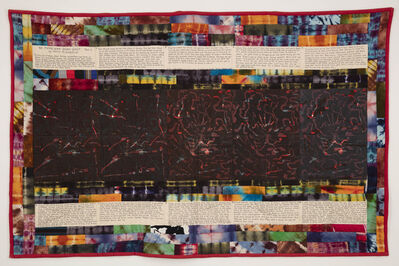 Faith Ringgold, 'No More War Story Quilt Part I', 1985