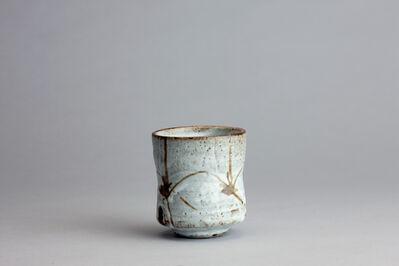 Randy Johnston, 'Yunomi, nuka glaze over iron brush decoration', n/a