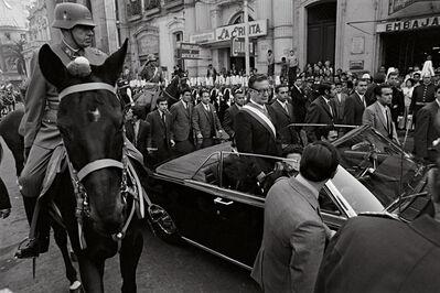 Thomas Billhardt, 'Augusto Pinochet und Salvador Allende', 1970
