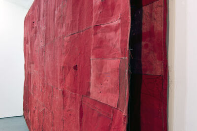 Simon Callery, 'Flat Painting Bodfari 14/15 Cadium Red Deep (Detail)', 2015