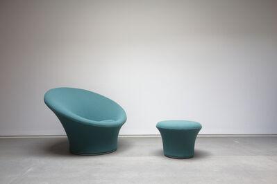 "Pierre Paulin, '""Mushroom"" armchair and ottoman', 1959-1960"