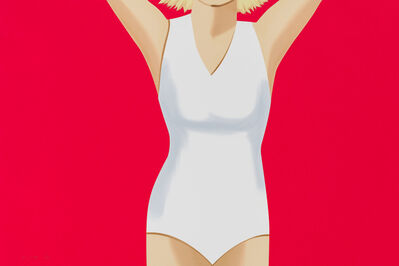 Alex Katz, 'Coca-Cola Girl 2 ', 2019
