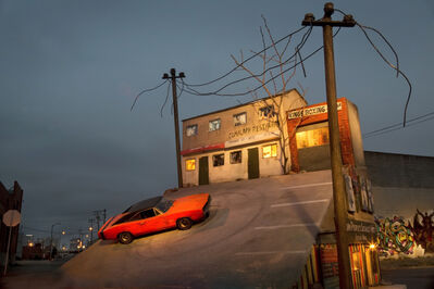 Tracey Snelling, 'West Oakland at night', 2013