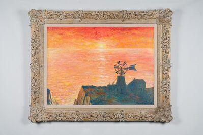 John Myatt, 'Windmill At Sunset In The Style of Claude Monet 1884', 2020